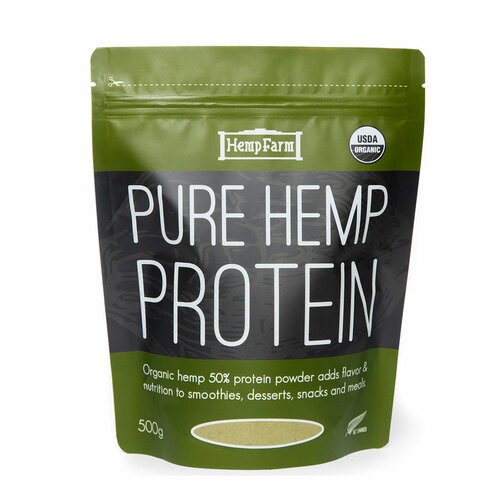 Pure Hemp Protein Powder Organic