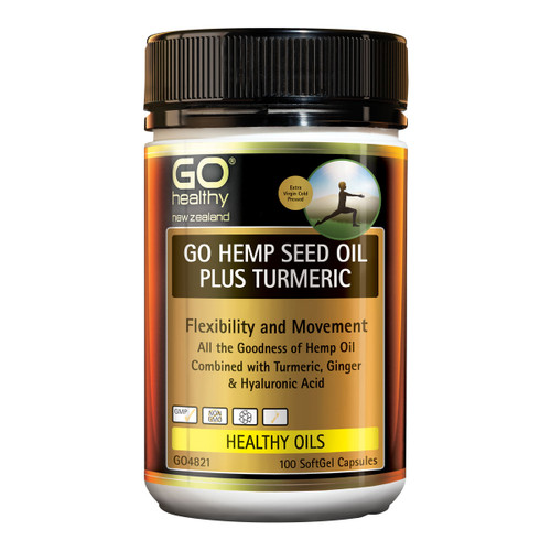 GO Hemp Seed Oil Plus Turmeric