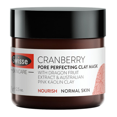 Cranberry Pore Perfecting Clay Mask