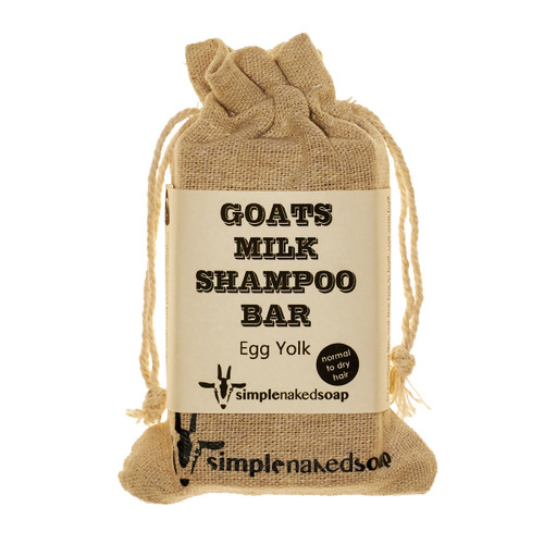 Goats Milk Shampoo Bar - Egg Yolk