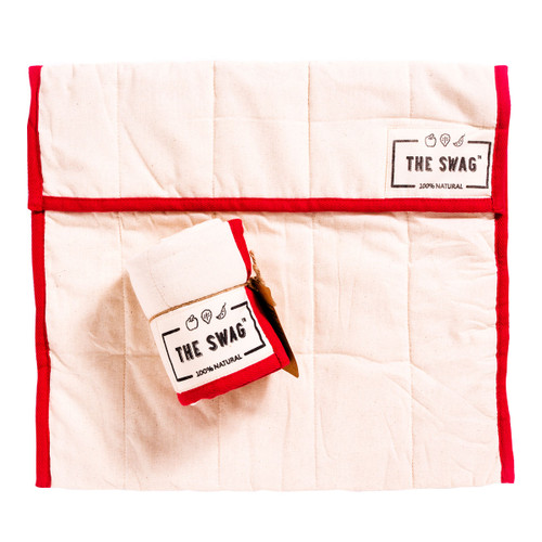 The Large Swag - Red Trim