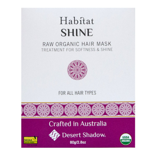 Shine Shadow Raw Organic Hair Mask