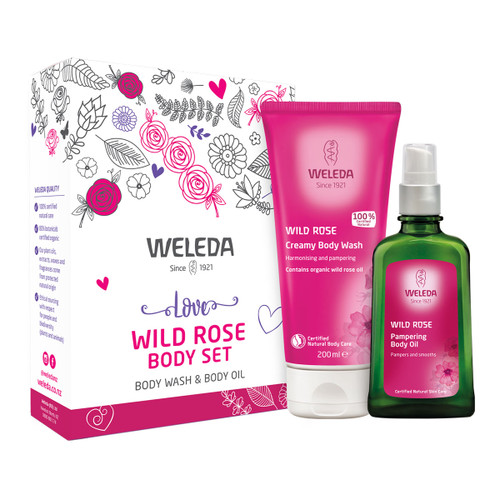 Love Wild Rose Body Set