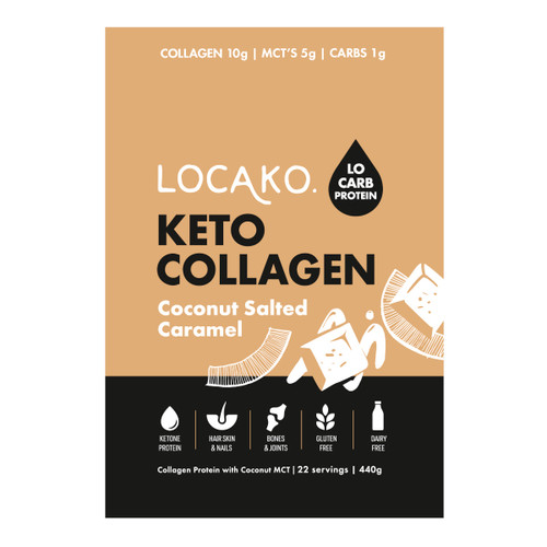 Keto Collagen Coconut Salted Caramel