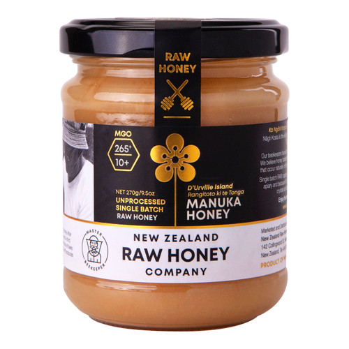 RAW Manuka Honey MGO265+