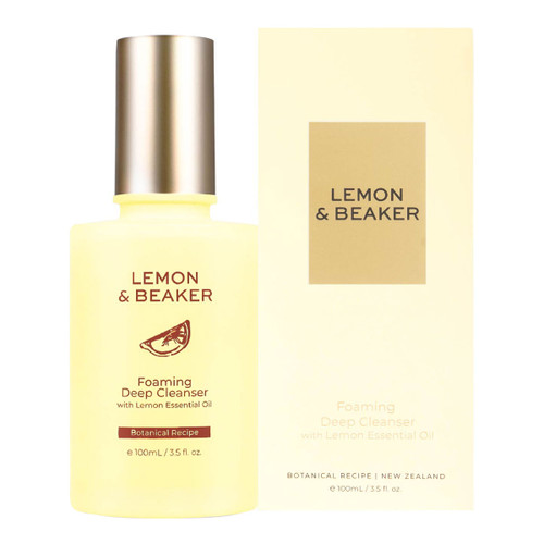 Foaming Deep Cleanser with Lemon Essential Oil