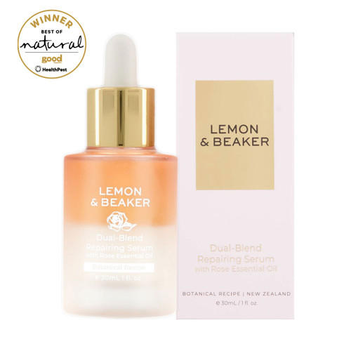 Dual-Blend Repairing Serum with Rose Essential Oil