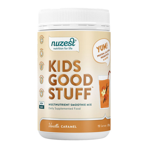 Kids Good Stuff Vanilla Caramel