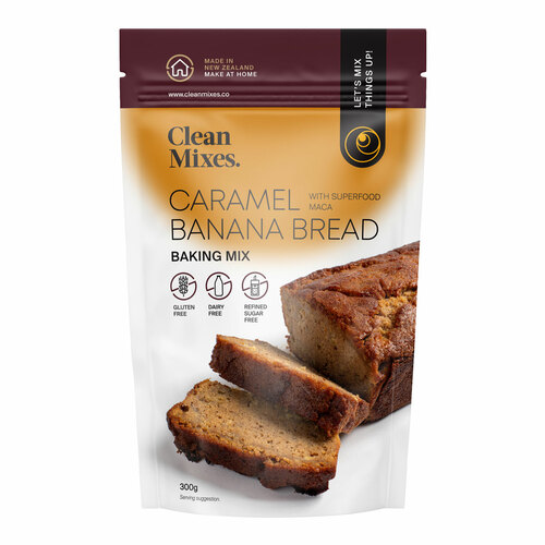 Caramel Banana Bread Mix with Maca