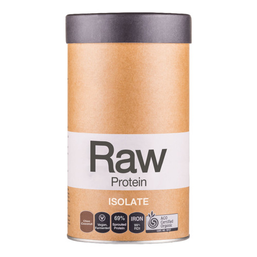 Raw Protein Isolate Choc Coconut