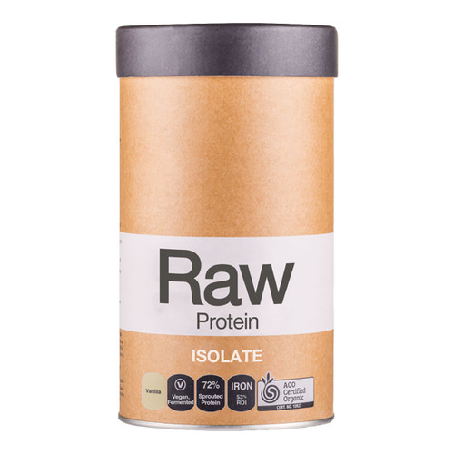 Raw Protein Isolate Vanilla