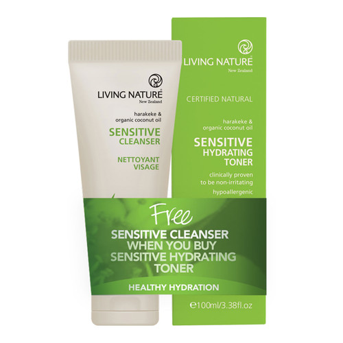Sensitive Cleanser & Sensitive Toner Pack