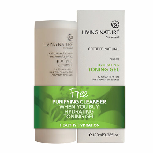 Purifying Cleanser & Hydrating Toning Gel Pack