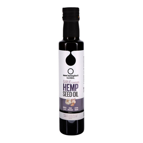 Garlic Flavoured Hemp Seed Oil