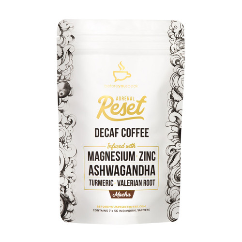 Adrenal Reset Decaf Coffee Mocha