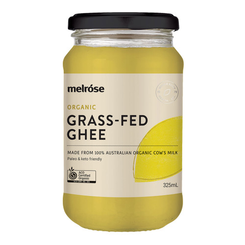 Organic Grass Fed Ghee