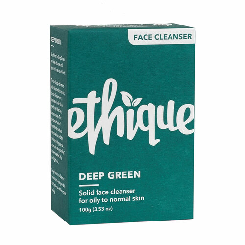 Deep Green - Solid Face Cleanser for Oily to Normal Skin