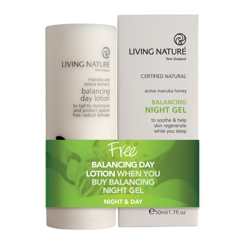 Balancing Night Gel + Free Balancing Day Lotion