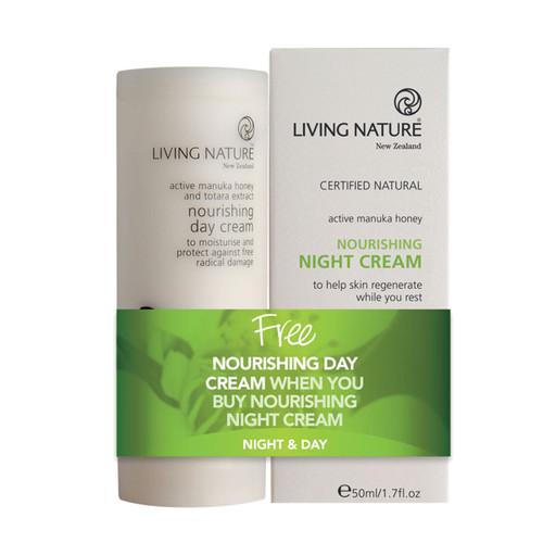 Nourishing Night Cream + Free Nourishing Day Cream
