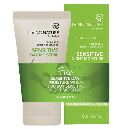 Sensitive Night Moisture + Free Sensitive Day Moisture