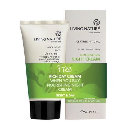 Nourishing Night Cream + Free Rich Day Cream