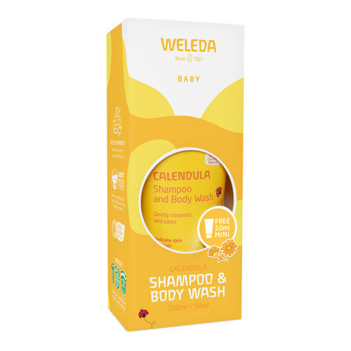 Calendula Shampoo & Body Wash Pack