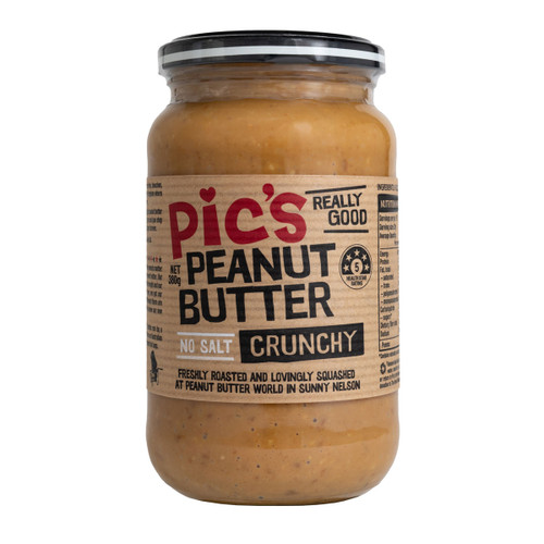 Peanut Butter Crunchy No Salt