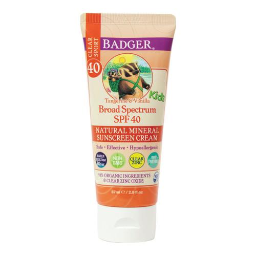 Kids Sunscreen SPF40 Tangerine & Vanilla