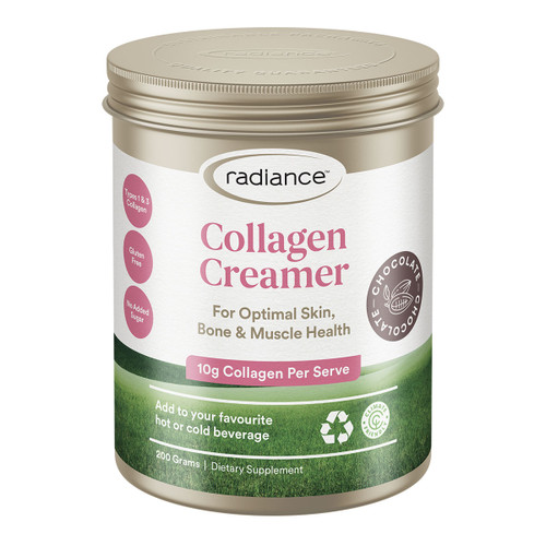 Collagen Creamer Chocolate for Skin, Bone & Muscle Health