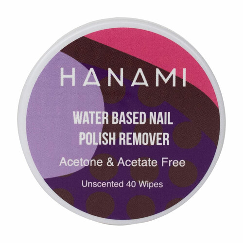 Water Based Nail Polish Remover Wipes - Unscented