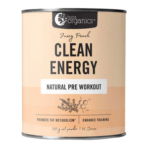 Natural Pre Workout Juicy Peach