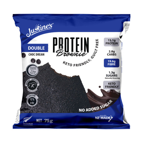 Double Choc Dream Protein Brownie