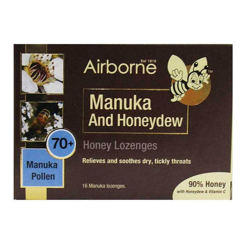 Manuka & Honeydew Lozenges 70+