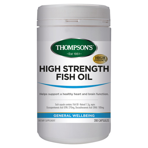 High Strength Fish Oil