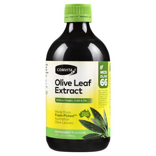 Olive Leaf Extract Liquid - Peppermint