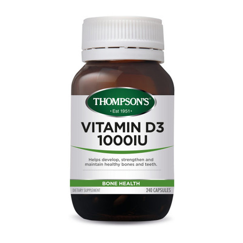 Vitamin D3 1000IU - Bone Health