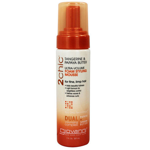 Ultra-Volume Styling Mousse Tangerine & Papaya