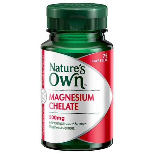 Magnesium Chelate 500mg