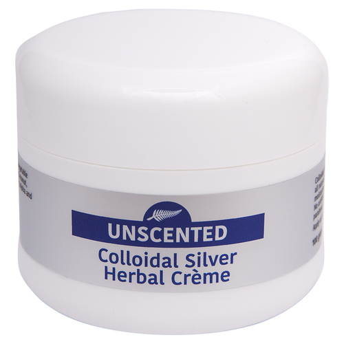 Colloidal Silver Herbal Creme - Unscented