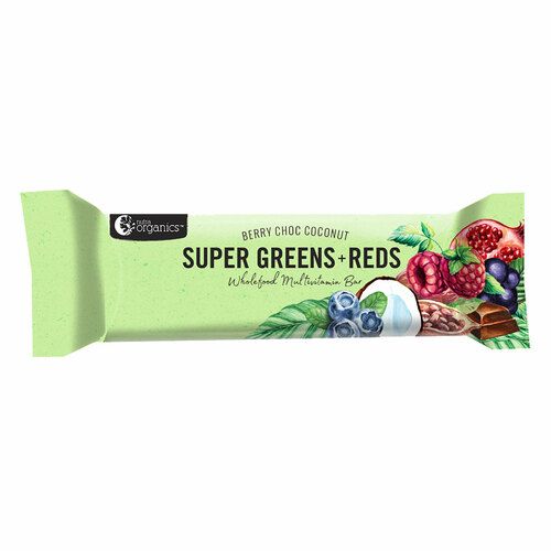 Super Greens & Reds Multi Vitamin Energy Bar