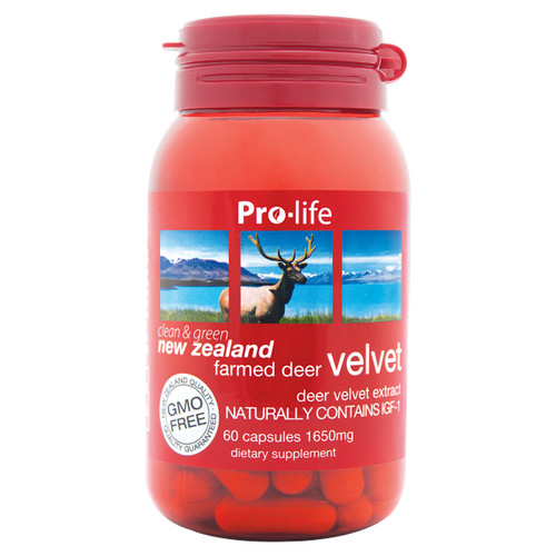NZ Farmed Deer Velvet 1650mg