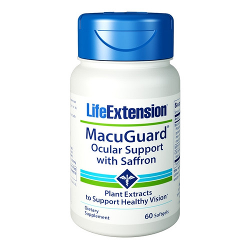 MacuGuard Ocular Support With Saffron