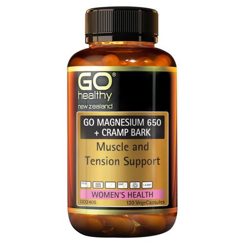 Go Magnesium 650 + Cramp Bark