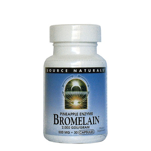 Bromelain 500mg - Pineapple Enzyme