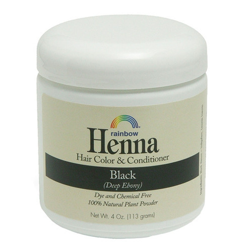 Henna Black - Deep Ebony