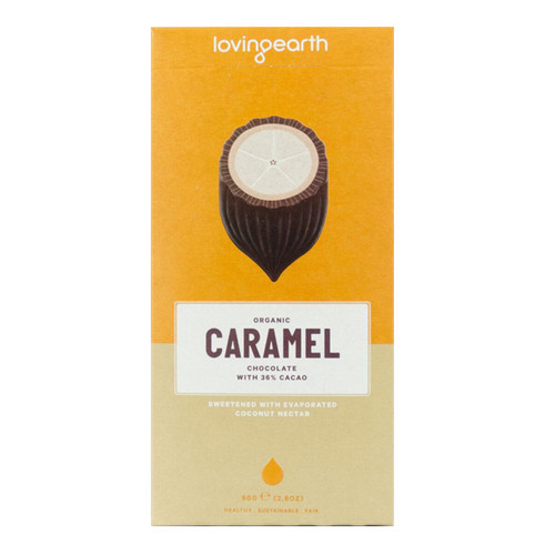 Organic Caramel Chocolate