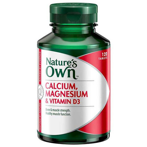 Calcium & Magnesium with D3