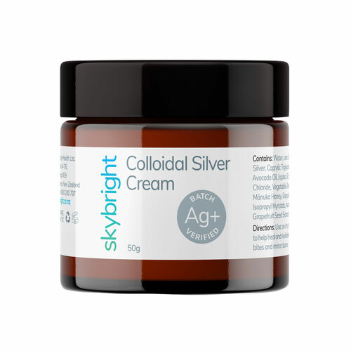 Colloidal Silver Cream