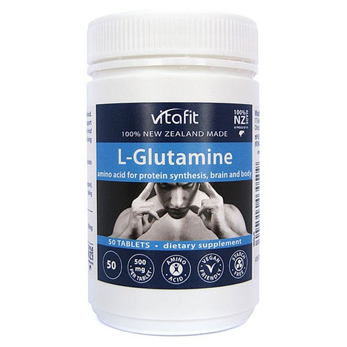 L-Glutamine 500mg - Amino Acid