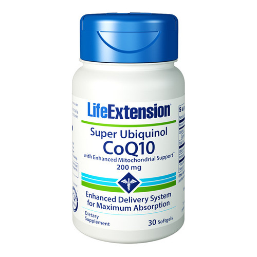 Super Ubiquinol CoQ10 200mg